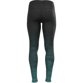 Odlo Zeroweight Print Tights Women, jaded/graphic